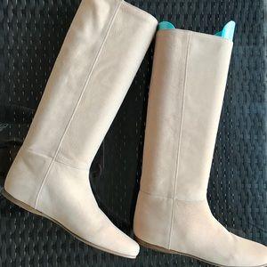 NWT Prada Suede Knee Boots 38/8